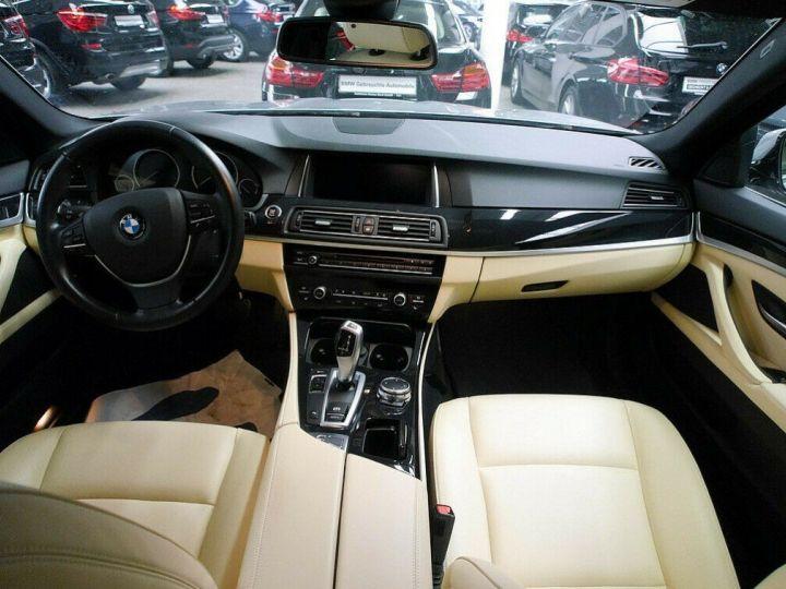 BMW Série 5 Touring BMW 530dA 258 LUXE (TOIT PANORAMIQUE) 01/2017 Gris métal - 8