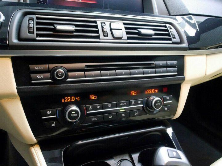 BMW Série 5 Touring BMW 530dA 258 LUXE (TOIT PANORAMIQUE) 01/2017 Gris métal - 12
