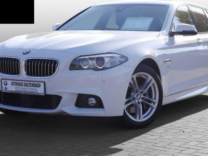 BMW Série 5 Touring F11 530DA 258CH M SPORT BLANC Occasion - 1