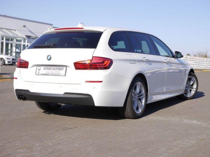 BMW Série 5 Touring F11 530DA 258CH M SPORT BLANC Occasion - 3