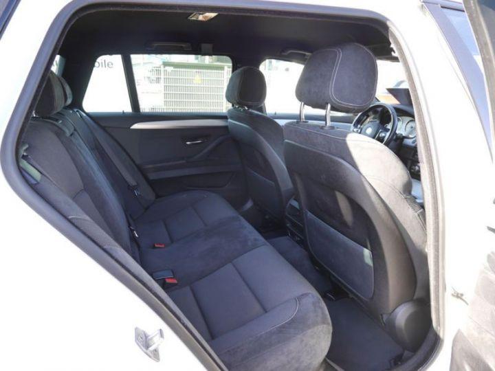BMW Série 5 Touring F11 530DA 258CH M SPORT BLANC Occasion - 5