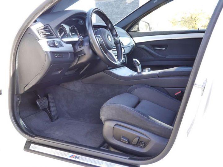 BMW Série 5 Touring F11 530DA 258CH M SPORT BLANC Occasion - 9