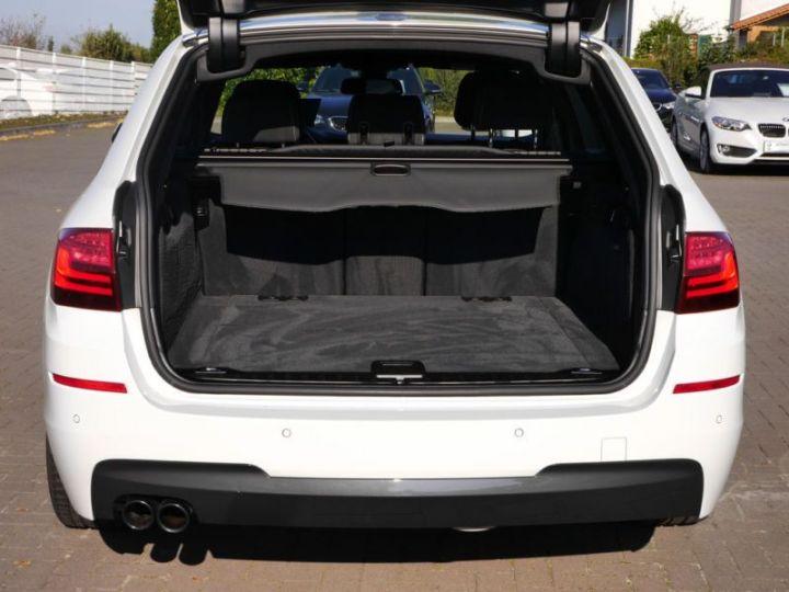 BMW Série 5 Touring F11 530DA 258CH M SPORT BLANC Occasion - 10