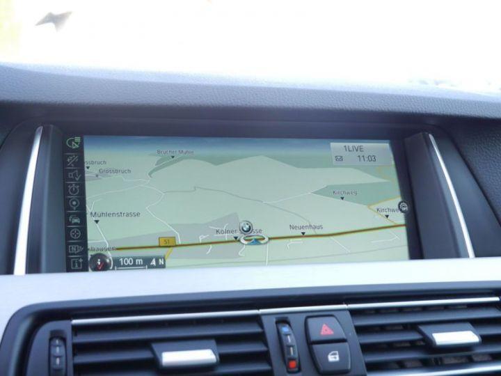 BMW Série 5 Touring F11 530DA 258CH M SPORT BLANC Occasion - 12