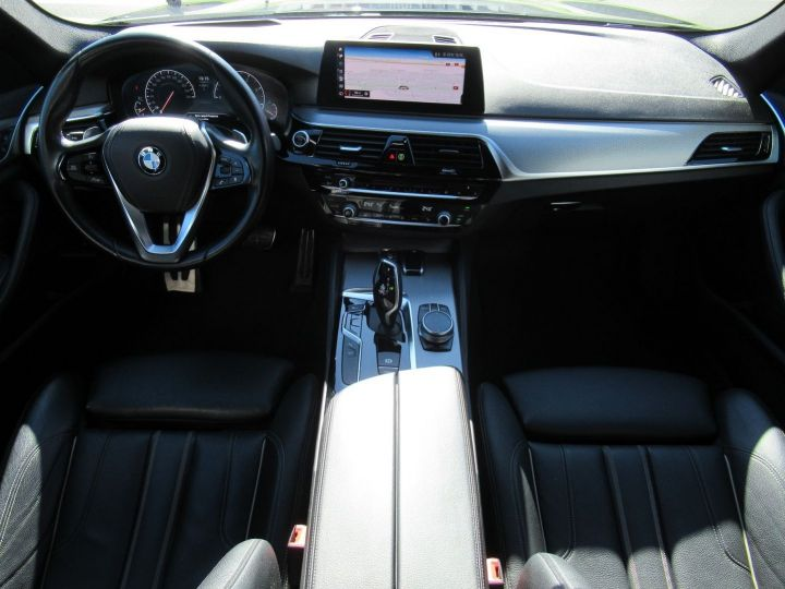 BMW Série 5 Touring (G31) 520DA XDRIVE 190CH M SPORT STEPTRONIC Noire - 8