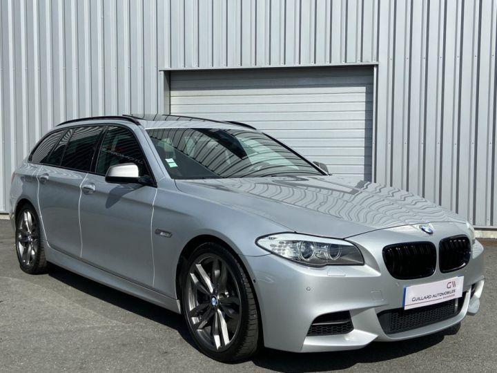BMW Série 5 Touring M550d TOURING 381ch (F11) BVA8 GRIS CLAIR - 4