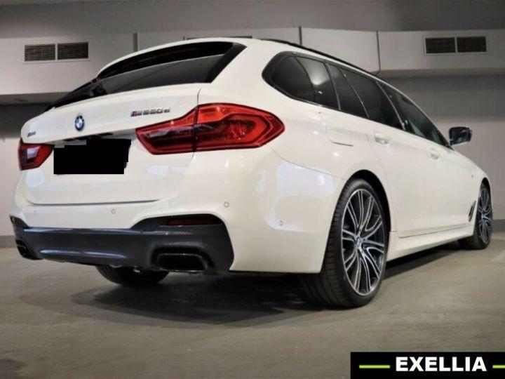 BMW Série 5 Touring M550d xDrive BLANC PEINTURE METALISE  Occasion - 2
