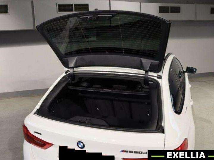 BMW Série 5 Touring M550d xDrive BLANC PEINTURE METALISE  Occasion - 4