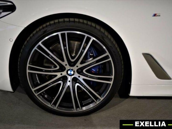 BMW Série 5 Touring M550d xDrive BLANC PEINTURE METALISE  Occasion - 5