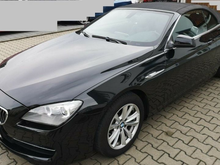 BMW Série 6 640D 313 LUXE BVA8 noir métal - 1