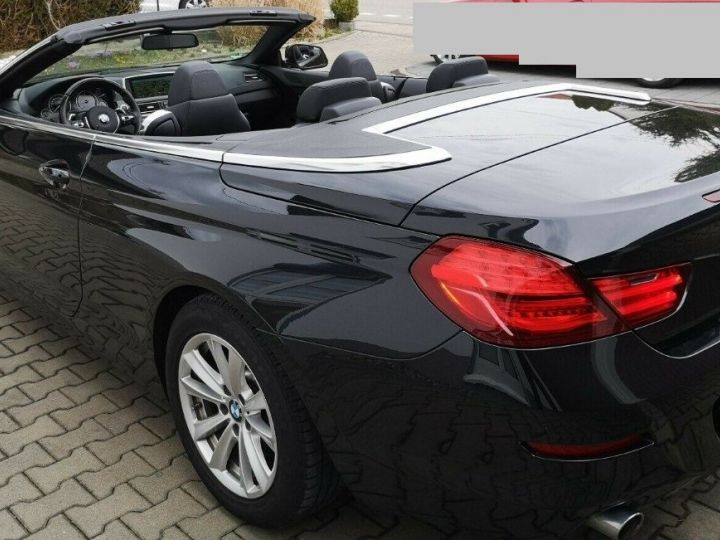 BMW Série 6 640D 313 LUXE BVA8 noir métal - 6