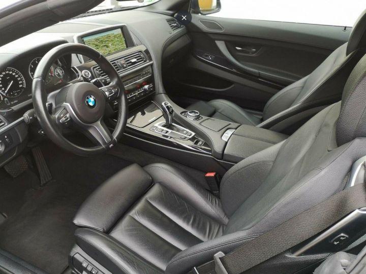 BMW Série 6 640D 313 LUXE BVA8 noir métal - 7