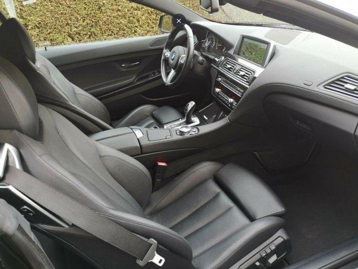 BMW Série 6 640D 313 LUXE BVA8 noir métal - 9
