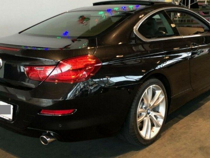 BMW Série 6  640D 313 LUXE BVA8 (Toit ouvrant) 08/2014 noir métal - 1