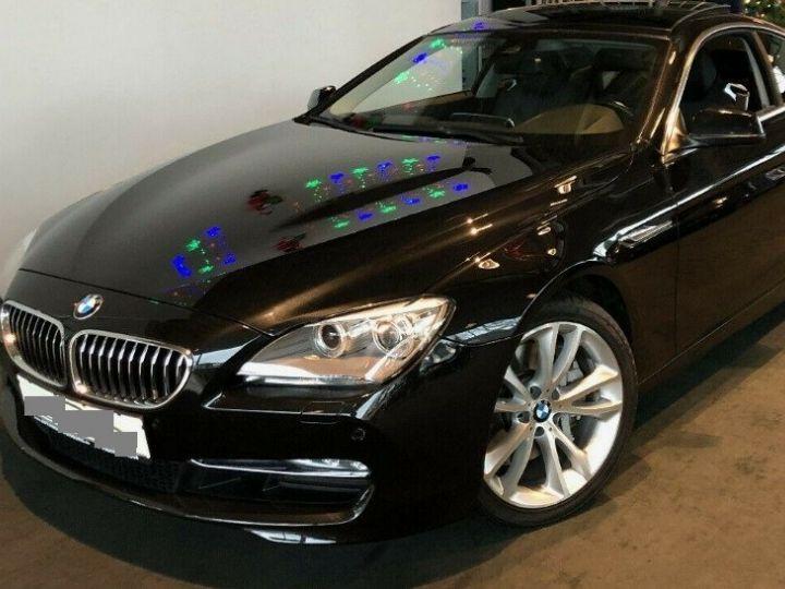 BMW Série 6  640D 313 LUXE BVA8 (Toit ouvrant) 08/2014 noir métal - 2