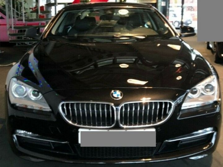 BMW Série 6  640D 313 LUXE BVA8 (Toit ouvrant) 08/2014 noir métal - 3