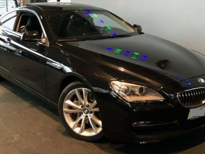 BMW Série 6  640D 313 LUXE BVA8 (Toit ouvrant) 08/2014 noir métal - 5