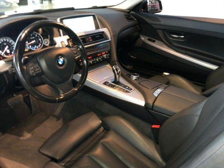 BMW Série 6  640D 313 LUXE BVA8 (Toit ouvrant) 08/2014 noir métal - 6