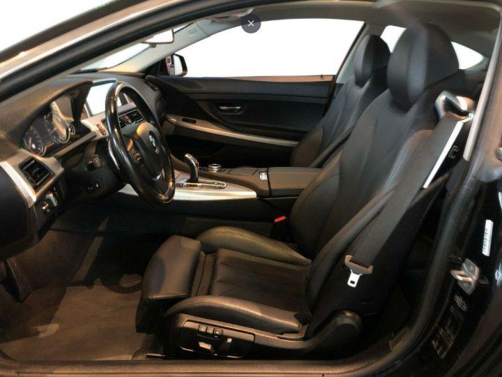 BMW Série 6  640D 313 LUXE BVA8 (Toit ouvrant) 08/2014 noir métal - 7