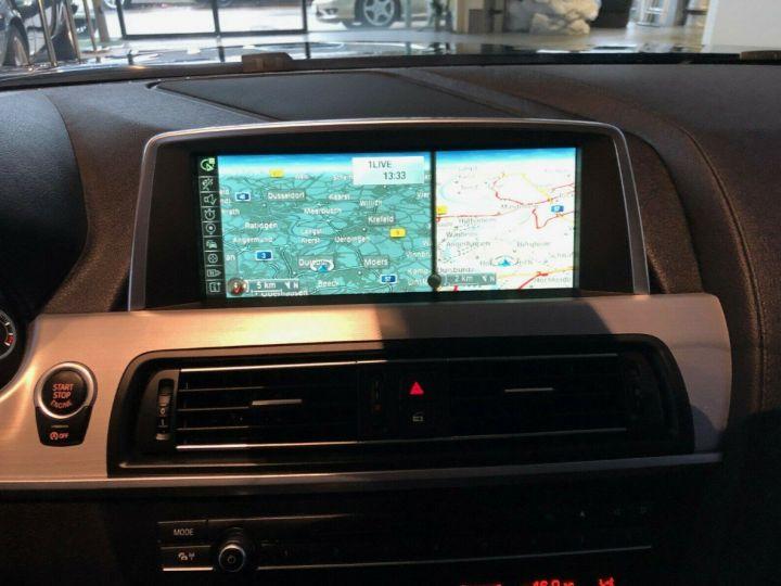 BMW Série 6  640D 313 LUXE BVA8 (Toit ouvrant) 08/2014 noir métal - 12