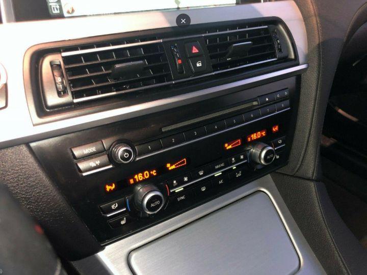 BMW Série 6  640D 313 LUXE BVA8 (Toit ouvrant) 08/2014 noir métal - 13