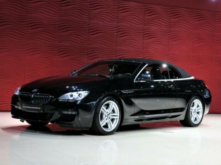 BMW Série 6 BMW 640d Cabrio*PACK M-SPORT*GPS/GARANTIE 12 MOIS  noir - 2