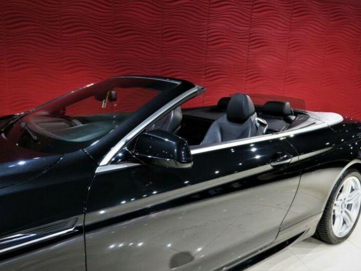 BMW Série 6 BMW 640d Cabrio*PACK M-SPORT*GPS/GARANTIE 12 MOIS  noir - 4