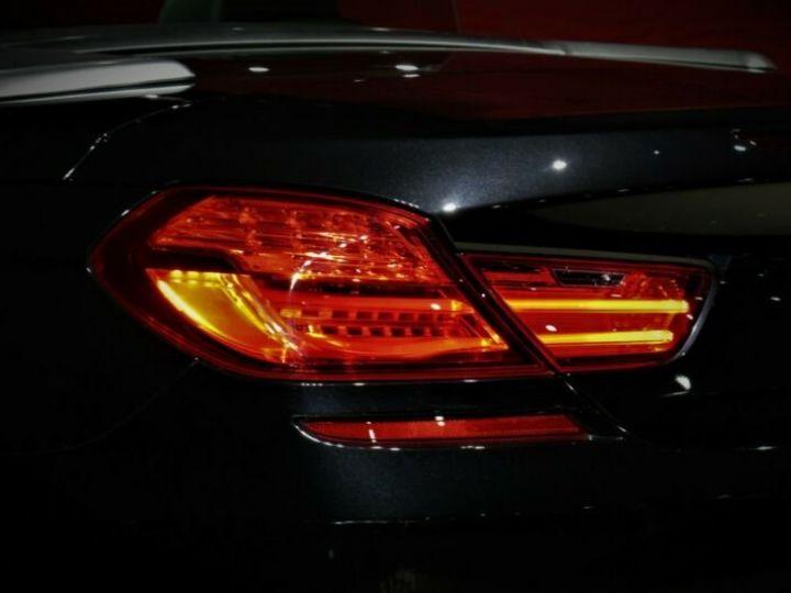BMW Série 6 BMW 640d Cabrio*PACK M-SPORT*GPS/GARANTIE 12 MOIS  noir - 7