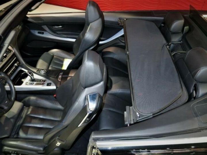 BMW Série 6 BMW 640d Cabrio*PACK M-SPORT*GPS/GARANTIE 12 MOIS  noir - 9