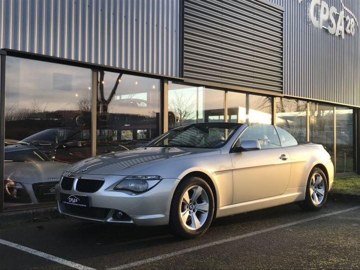 BMW Série 6 BMW SERIE 6 (E64) CABRIOLET 630CIA PACK LUXE beige metal - 1