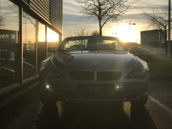BMW Série 6 BMW SERIE 6 (E64) CABRIOLET 630CIA PACK LUXE beige metal - 3
