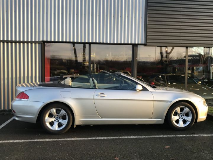 BMW Série 6 BMW SERIE 6 (E64) CABRIOLET 630CIA PACK LUXE beige metal - 5