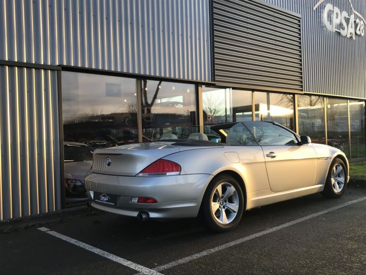 BMW Série 6 BMW SERIE 6 (E64) CABRIOLET 630CIA PACK LUXE beige metal - 6