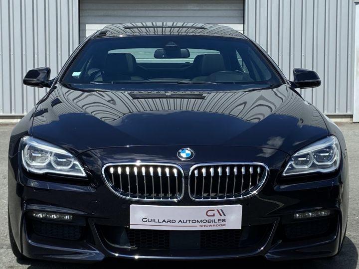 BMW Série 6 Gran Coupe 640 D M-SPORT 313ch (F06) BVA8 NOIR - 2