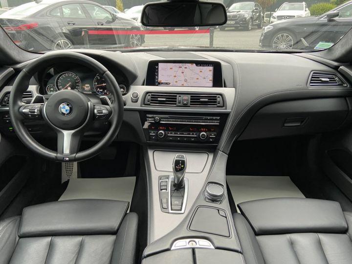 BMW Série 6 Gran Coupe 640 D M-SPORT 313ch (F06) BVA8 NOIR - 9