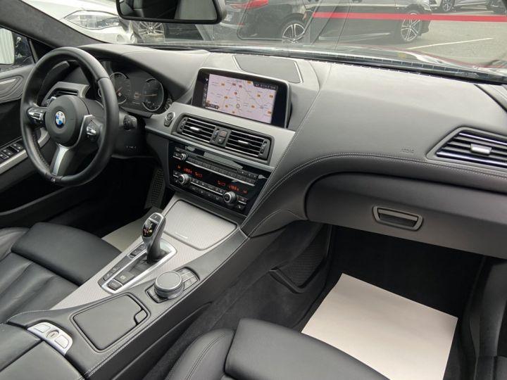 BMW Série 6 Gran Coupe 640 D M-SPORT 313ch (F06) BVA8 NOIR - 10