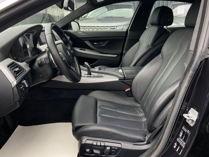 BMW Série 6 Gran Coupe 640 D M-SPORT 313ch (F06) BVA8 NOIR - 11