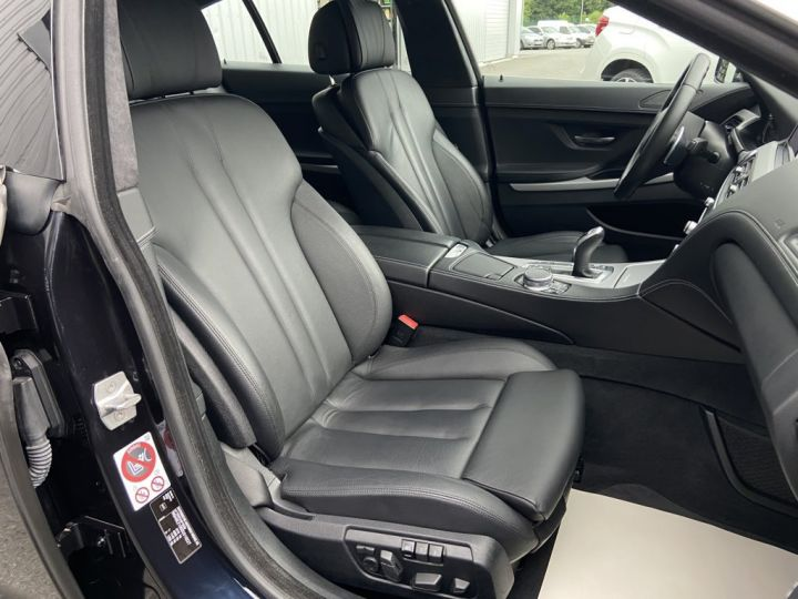 BMW Série 6 Gran Coupe 640 D M-SPORT 313ch (F06) BVA8 NOIR - 13