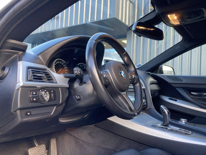 BMW Série 6 Gran Coupe BMW 640D/ xDrive 313 ch M SPORT  NOIR METALLISEE  - 13