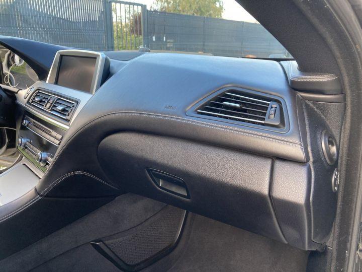 BMW Série 6 Gran Coupe BMW 640D/ xDrive 313 ch M SPORT  NOIR METALLISEE  - 17