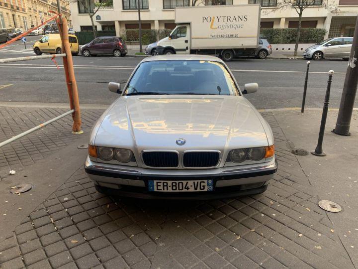 BMW Série 7 Gris argent métallisé  Occasion - 2