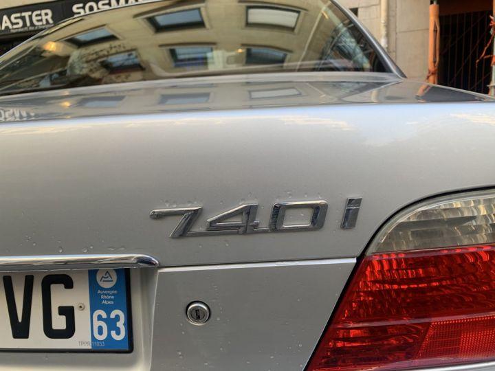 BMW Série 7 Gris argent métallisé  Occasion - 7