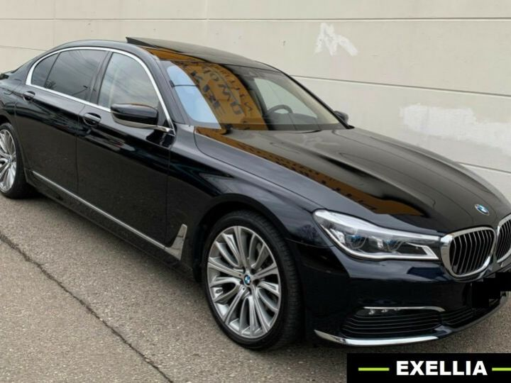 BMW Série 7 740 LD X DRIVE PACK GRAND LUXE  NOIR  Occasion - 1