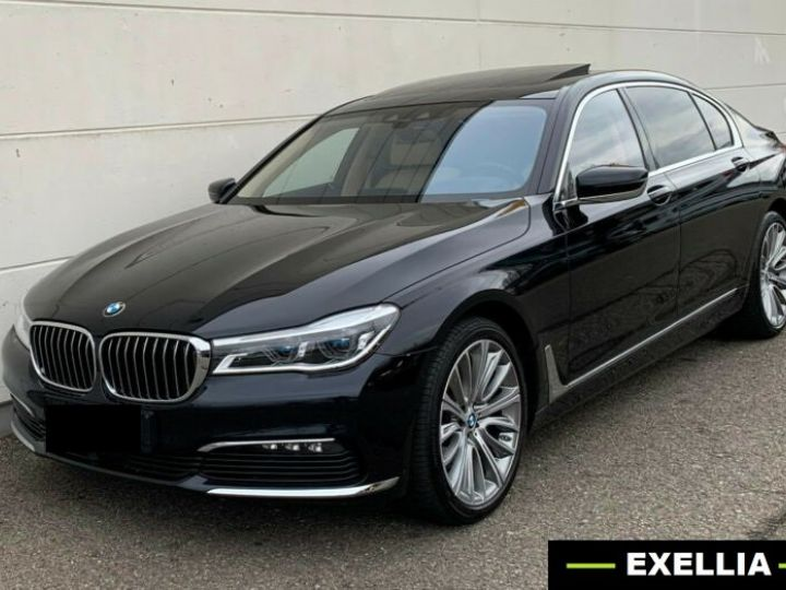 BMW Série 7 740 LD X DRIVE PACK GRAND LUXE  NOIR  Occasion - 2