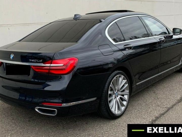 BMW Série 7 740 LD X DRIVE PACK GRAND LUXE  NOIR  Occasion - 4