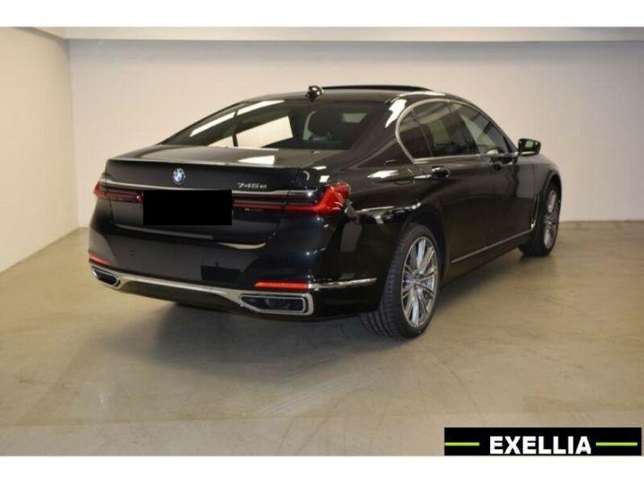 BMW Série 7 745e iperformance  noir peinture métallisé  Occasion - 3