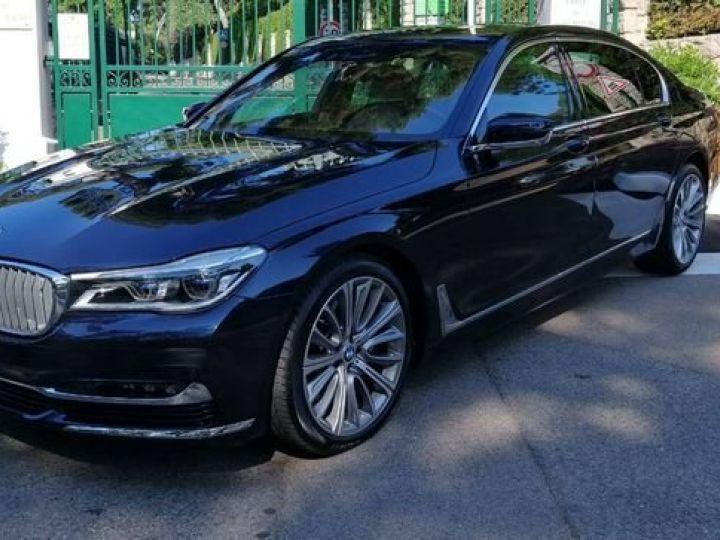 BMW Série 7 750 LI xdrive V8 noir - 1