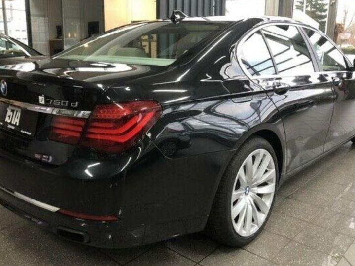 BMW Série 7 750d xDrive 381 LUXE 12/2012 noir métal - 2