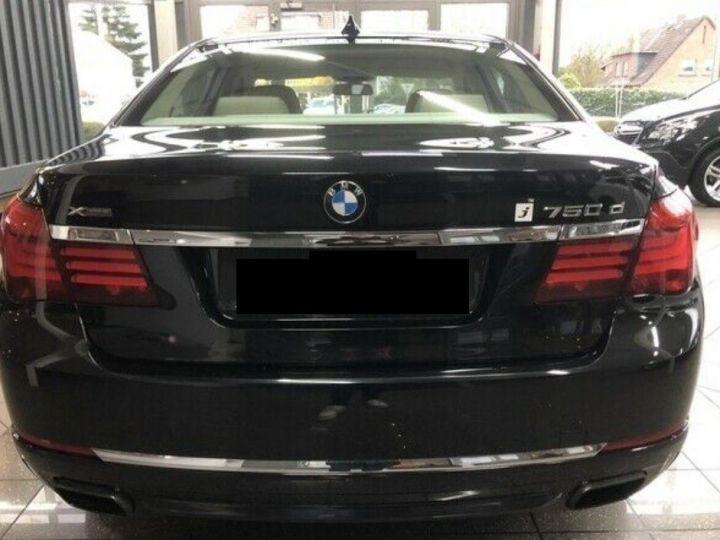 BMW Série 7 750d xDrive 381 LUXE 12/2012 noir métal - 4