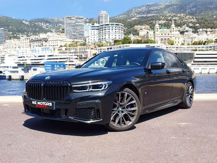 BMW Série 7 (G11) (2) 745E 394 M SPORT Noir Saphir Métal Occasion - 1